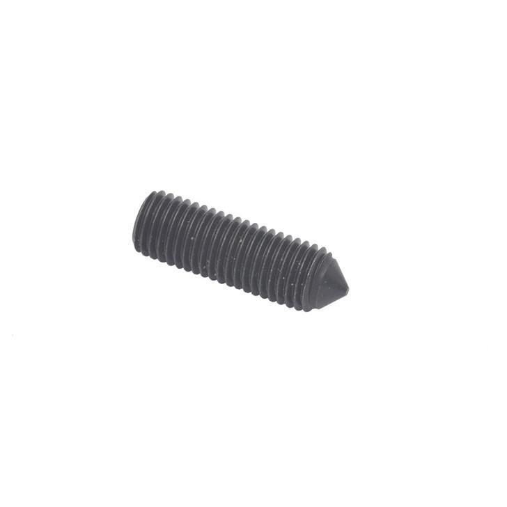 Cone tip set screw