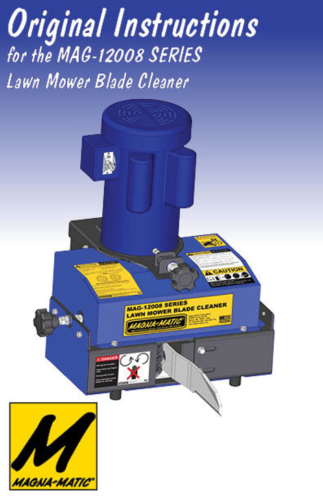 MAG-12008 Blade Cleaner manual cover