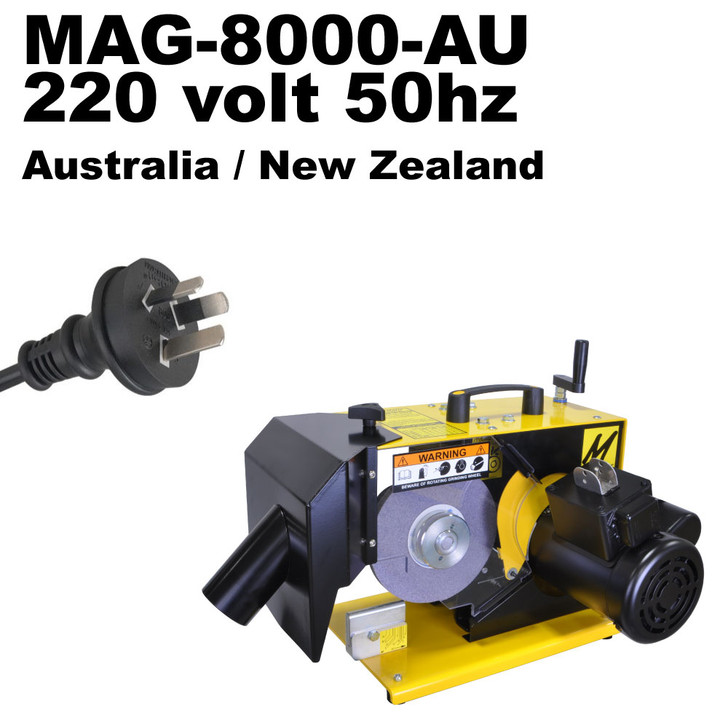 MAG-8000-AU Universal Lawn Mower Blade Sharpener
