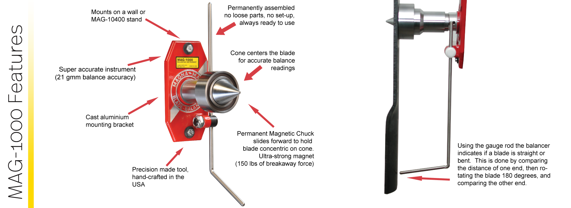 MAG-1000 Features