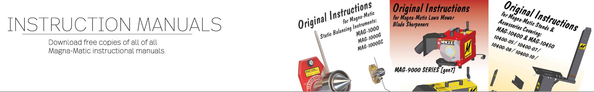 Instruction manuals header