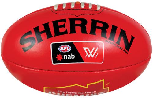 Sherrin Mini AFLW Red