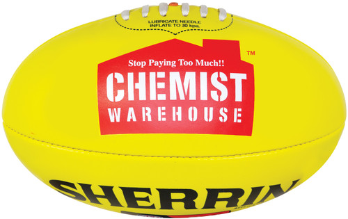 Sherrin Mini AFLW Yellow
