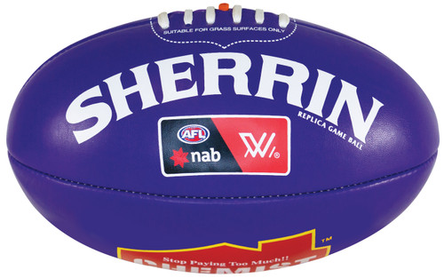 Sherrin Mini AFLW Purple