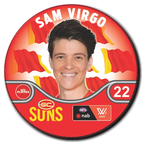 AFLW Player Badge