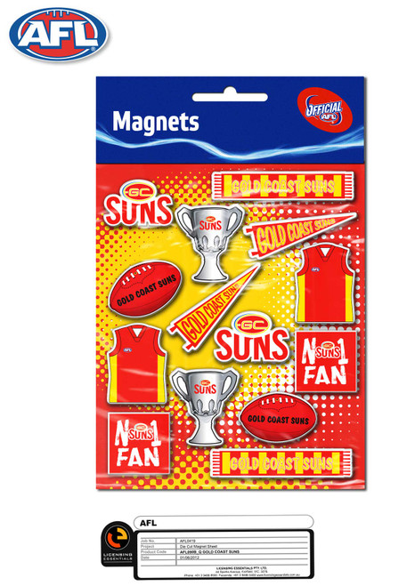 SUNS Magnet Sheet