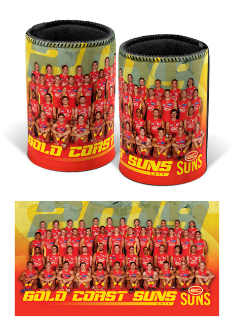 Team Photo Can Cooler