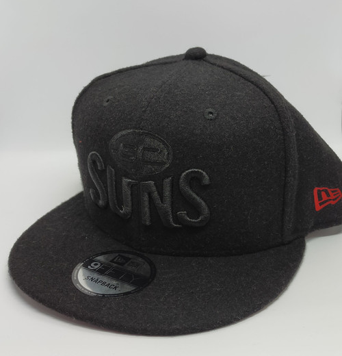 New Era Black Melton
