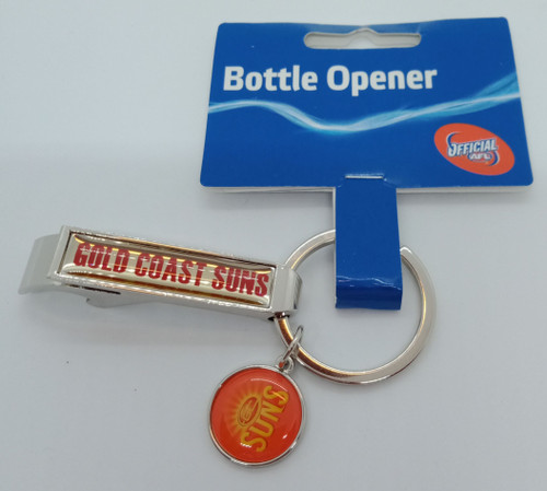 SUNS Bottle Opener Keyring