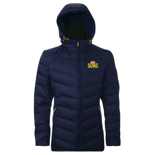 Women's Navy Down Jacket