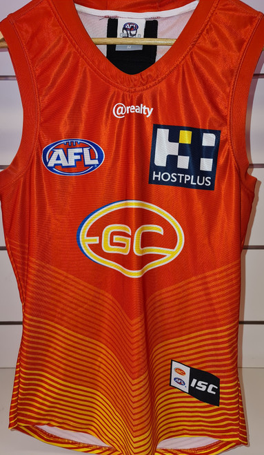 2020 Player Worn Guernsey - Red Training Tier 4