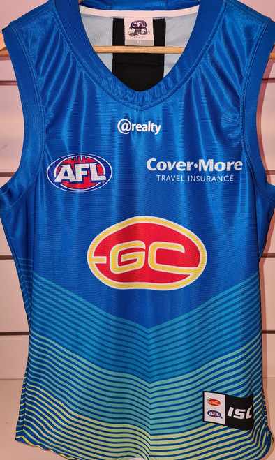 2020 Player Worn Guernsey - Blue Training Tier 1