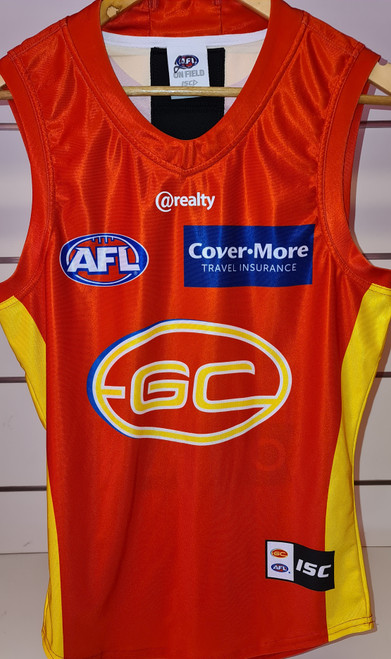 2020 Player Worn Guernsey - Red Away Tier 1
