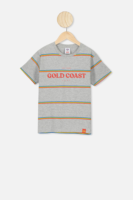 Kids Stripe Logo Tee