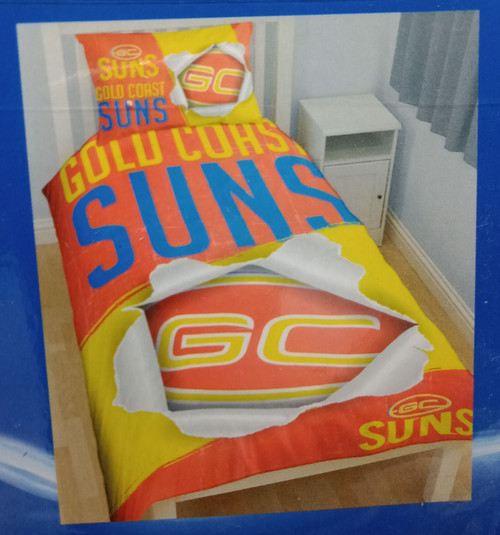SUNS Single Quilt Cover Set