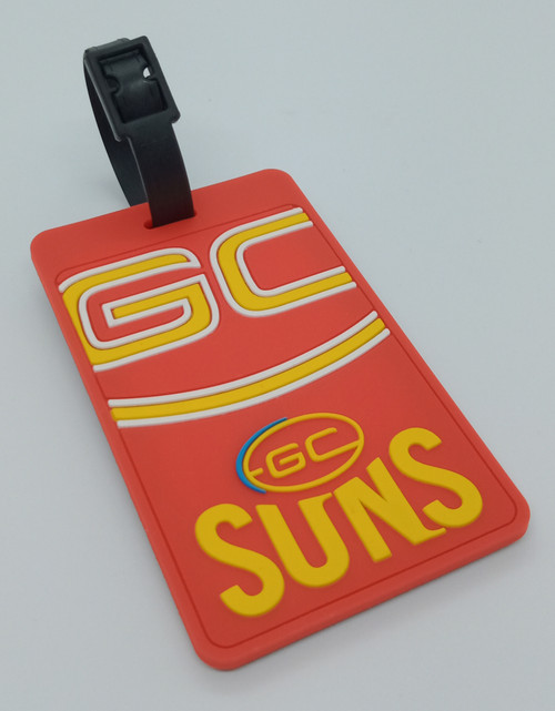 Gold Coast SUNS Bag Tag