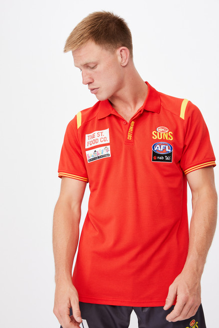 Cotton On AFLW 2021 Media Polo - Mens