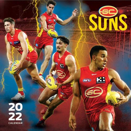 2022 Gold Coast SUNS Calendar