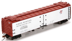 Athearn HO ATH94671 RTR 50' Ice Reefer  Chicago and Northwestern C&NW #50010