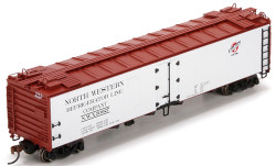 Athearn HO ATH94672 RTR 50' Ice Reefer Chicago and Northwestern C&NW #50027