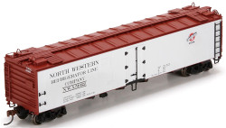 Athearn HO ATH94673 RTR 50' Ice Reefer Chicago and Northwestern C&NW #51022