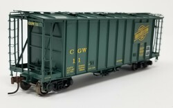 Athearn HO Scale RTR 40' 2600 Airslide Early Version, CGW #11 (Green) Lombard Hobbies Exclusive