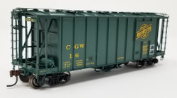 Athearn HO Scale RTR 40' 2600 Airslide Early Version, CGW #16 (Green) Lombard Hobbies Exclusive