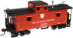 Atlas Trainman HO Scale RTR C&O Style Cupola Caboose, Delaware & Hudson #35872