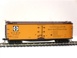 ATLAS MASTER HO 20002724  40' WOOD REEFER, SANTA FE #17583