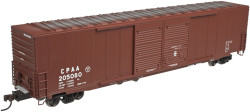Atlas Master HO 20003080  60' Auto Parts Box Car (Double Door), Canadian Pacific (CPAA) (Brown/White) #205080