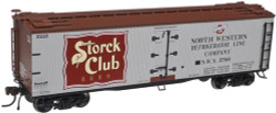 Atlas Master HO 20003092  40' Wood Reefer Storck's Beer #3799