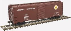 Atlas Trainman HO 20004553 1937 AAR 40' Box Car Kit Norfolk Southern NS #25634