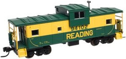 Atlas N 50000986 Extended Vision Caboose No Roofwalk Reading RDG #94102
