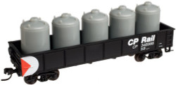 Atlas Trainman N 50001360  42' Steel Gondola wCement Container Load CP Rail CP # 348962
