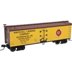 Atlas MASTER N 50001752  40' WOOD REEFER MARSHALL CANNING COMPANY 1934