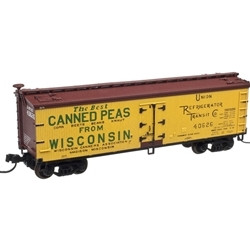 Atlas MASTER N 50001756  40' WOOD REEFER WISCONSIN CANNERS ASSOCIATION 40625