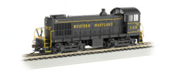 Bachmann N 63151 Alco S-4 Switcher Diesel Locomotive DCC Equipped Western Maryland WM #145