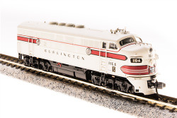 Broadway Limited Imports N 3488 EMD F3A CB&Q 116D Greyback Freight Scheme equipped with Paragon3 Sound/DC/DCC