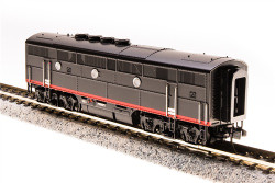 Broadway Limited Imports N 3495 EMD F3B SP 6102C Black Widow Scheme equipped with Paragon3 Sound/DC/DCC