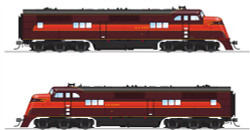 Broadway Limited Imports HO 5504 Alton EA A-unit, #100A, Maroon and Red, Paragon3 Sound/DC/DCC