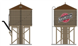 Broadway Limited Imports HO 6099 Water Tower - CNW Chicago and North Western Weathered Brown