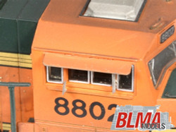 BLMA N 16 Detail Parts Modern EMD Cab Sunshades 4 per pack