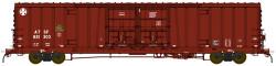 BLMA N Scale RTR, Santa Fe Class BX-166 60' Beer Boxcar, Santa Fe #621347 (Boxcar Red, w/Circle/Cross Logo)