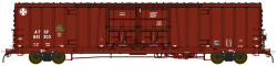 BLMA N Scale RTR, Santa Fe Class BX-166 60' Beer Boxcar, Santa Fe #621446 (Boxcar Red, w/Circle/Cross Logo)