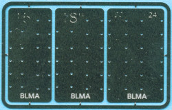 BLMA N 57 Detail Parts Grab Iron Drill Templates 4 sizes