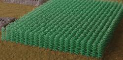 Bluford Shops Scenery HO 203 Cornfield Kit - 1120 Cornstalks - Summer Green