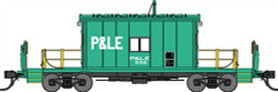 Bluford Shops HO 34100 Steel Transfer Caboose Pittsburgh & Lake Erie P&LE #556
