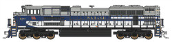 Fox Valley Models N Scale SD70ACe,Norfolk Southern #1070 (Wabash Heritage Scheme; blue, gray, white)