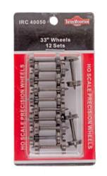 """Intermountain HO 40050 33"""" Wheels 12 Sets"""