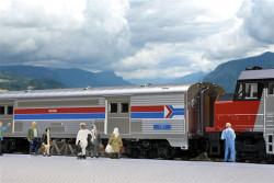Kato N 106-3512 Amtrak SS Baggage Ph1 (2Pk Baggage Car Set)